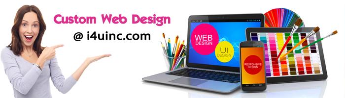 i4u custom web design