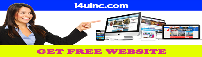 Free Website by i4uinc
